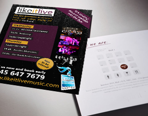Likeitlive flyer example